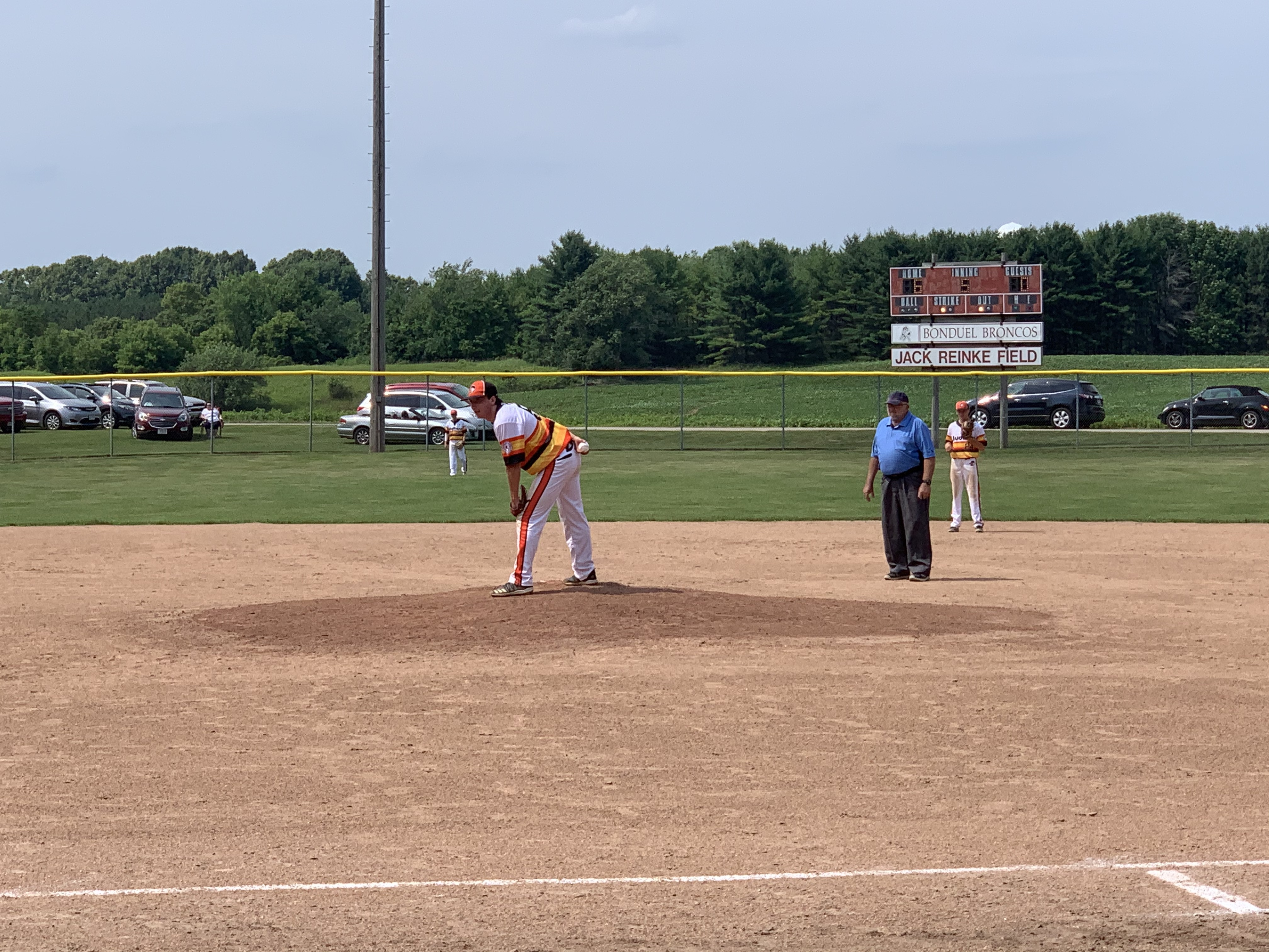 A Dairyland game was played between teams from Cecil and Bonduel at the baseball diamond at Village Park in Bonduel on July 4.Luke Reimer   NEW Media