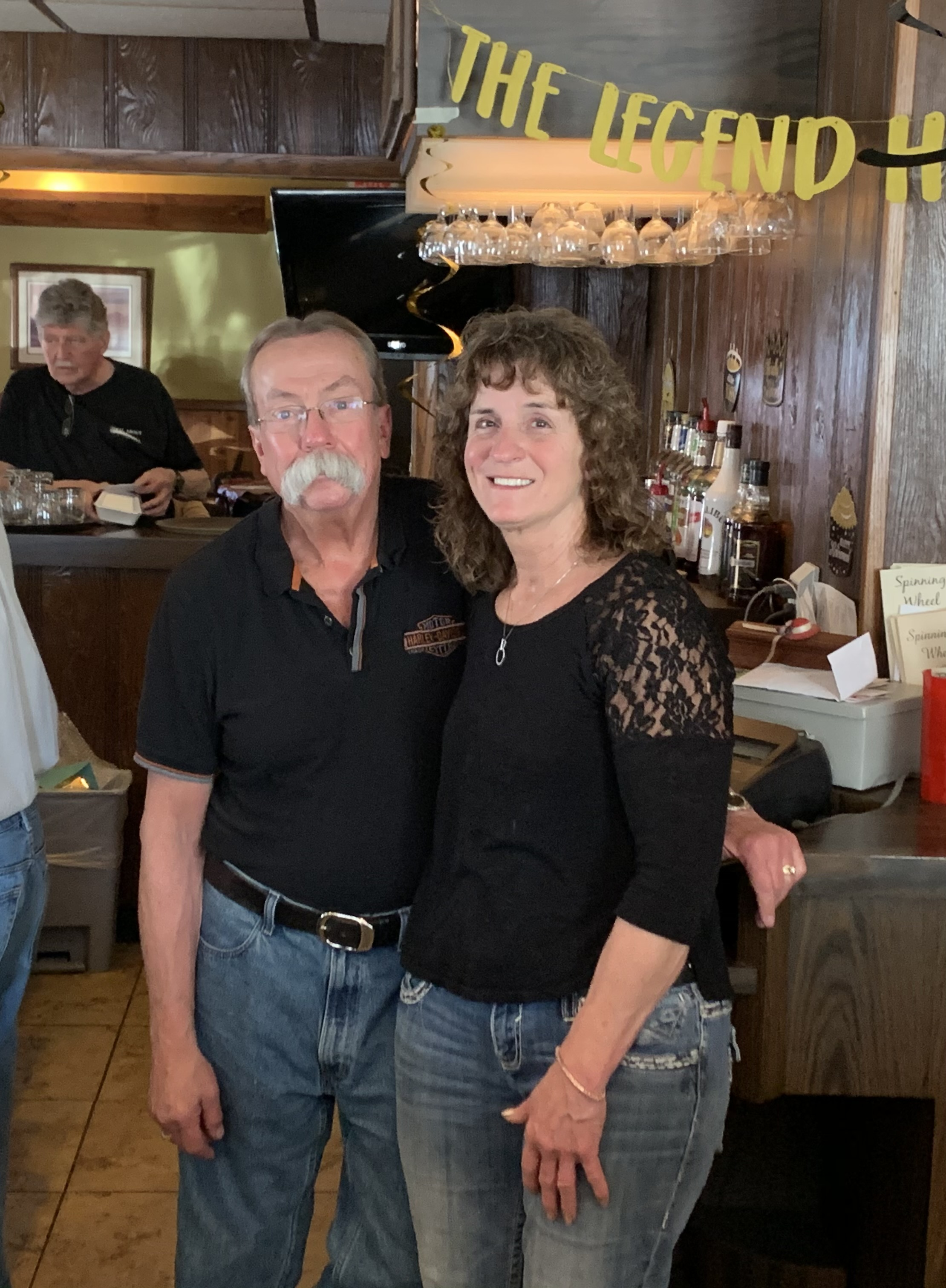 Steve Lemhouse mentioned that his favorite memory was meeting Lisa while the two worked together at the Spinning Wheel. Steve and Lisa have been married for 17 years and on April 29, they hosted their last dinner service at the Spinning Wheel Inn.Luke Reimer | NEW Media