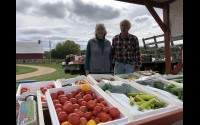 Carla and Jesse Hanke have been enjoying the farming life for 39 years. Their garden market provides fresh local produce and some socializing time with friends, neighbors and total strangers. Miriam Nelson | NEW Media