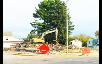 In the course of one day, Kautza Excavating LLC had razed Backes Food Mart, a building that had <a href=