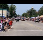 Many Pulaski residents and visitors packed Pulaski Street on July 18 in anticipation of the Polka Days Parade getting started.  Luke Reimer   NEW Media
