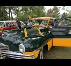A Green Bay Packers-themed truck was a popular attraction as the Sept. 12 car show at Shawano Lake County Park took place hours before the Packers' first game of the regular season.  Luke Reimer | NEW Media