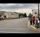 Shawano homecoming parade visitors wait in anticipation on Main Street before participants of the parade pass through.  Luke Reimer | NEW Media