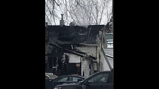 Four people died in a house fire along Fabry Street in the city of Oconto early Friday morning. (Warren Bluhm | NEW Media)