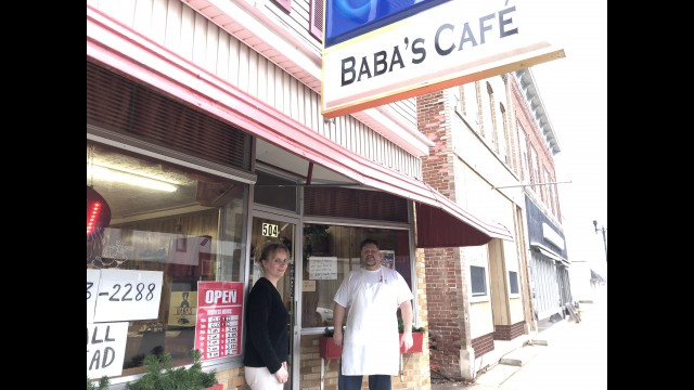 Laura Jolin and Cary Gorski, owners of Baba's Café in Wittenberg, are adjusting to the new normal of working during the coronavirus pandemic. Their hours are 9 a.m. to 1 p.m., Wednesday through Sunday. Miriam Nelson | NEW Media